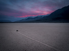 Sunset over the Racetrack Playa, (Trent9701) Tags: california deathvalley trentcooper vacation desert nationalparks travel
