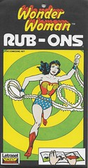 Wonder Woman Rub-Ons ( Letraset 1977 ) (Donald Deveau) Tags: wonderwoman dccomics superhero vintagetoy rubons letraset