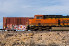 ATSF (Reed Skyllingstad) Tags: 625469 6656 atsf bnsf boxcar burlingtonnorthernsantafe california color desert es44ac ge generalelectric homer intermodal mojavetrip2018 outdoors outside pan railroad railway santafe stacktrain sunny tracks train trains transcon unitedstatesofamerica locomotive