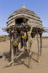 nyangaton .omo valley. Ethiopia (courregesg) Tags: ethiopia omovalley ethnic ethnology tribe tribal traditional travel beauty portrait jewelry traditionalife beeds necklace nyangaton omoriver