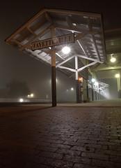 _MG_3232.CR2 (jalexartis) Tags: fayetteville fayettevillenc fayettevillenorthcarolina fog foggy foggymorning downtownfayetteville downtown amtrak trainstation amtrakstation