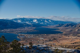 osoyoos from Anarchist Mtn Lookout
