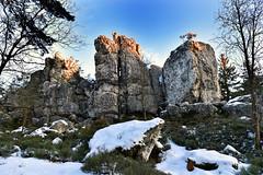 Kleiner Pfahl (Pixelkids) Tags: pfahl sonnenaufgang wintermorgen felsen quarzfels bayerischerwald viechtach landschaft kleinerpfahl explore