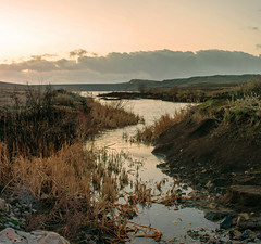 The river flows (Ch.Benabid.Photographies (fb/page)) Tags: landscape nature sunrise sunlight river lake reflection sky outdoors