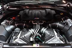 BMW 4.4L DOHC V8 32V TwinPower Turbo engine (Matthew P.L. Stevens) Tags: 44l dohc v8 32v twinpower turbo 2019 bmw m6 engine 2018 canadian international auto show toronto car