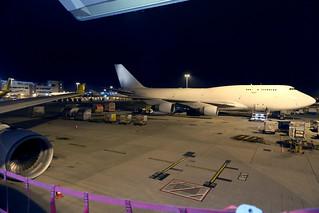 Air Hong Kong - DHL B747-400BCF B-HKX at HKG/VHHH