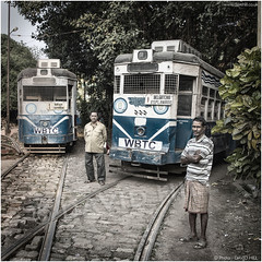 Ready To Roll (channel packet) Tags: india kolkata calcutta trams depot city transport davidhill