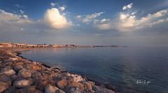 Souq Waqif Al Wakra (Nabeel Iqbal) Tags: this is qatar doha al wakrah wakra souq waqif morning sunrise bazaar market view seascape landscape ocean watar sea rocks colors clouds canon 6d 1740mm camera middle east