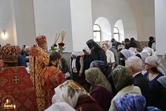 036. Престольный праздник в соборе г.Святогорска 30.09.2015