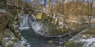 Tal der Wilden Endert @ Wasserfall