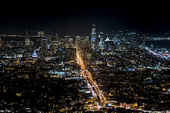 San Francisco (GirarFly798) Tags: san francisco california night financial district lights town city