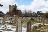 Ramsgate Cemetery - Twin Chapels 5 (Le Monde1) Tags: ramsgate kent england ramsgatecemetery county graves tombs tombstones headstones lemonde1 nikon d800e dumptonpark snow georgegilbertscott nonconformist anglican twin chapels