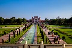 Agra - Taj Mahal - Darwaza-i-Rauza (The Great Gate)