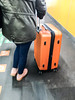 Suitcase (DigiPub) Tags: railwaystationplatform gettyimages 907963950 箱子 華蓋創意 東京 日本 suitcase blurredmotion denim