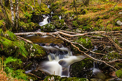 Dance Of The Fairies (Half A Century Of Photography) Tags: shipwrecked scotland waterfall scenery scenic sky mountain stream burn pentaxkr pentax pentaxdal outdoor outdoors outside
