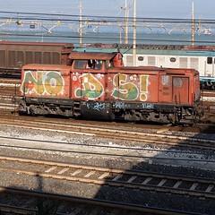 🚂 NODS #stolenstuff #graffitiblog #check4stolen #flickr4stolen #nods #graffititrain #graffiti #instagraff #trainbombing (stolenstuff) Tags: instagram stolenstuff graffiti graffititrain benching