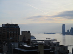 Whitney Museum of American Art balcony view of Jersey City Skyline 6392 (Brechtbug) Tags: new whitney museum american art balcony view jersey city skyline highline york nyc 01212018 street former rail road garden path walk way elevated el remodeled derelict urban reclamation boardwalk skyway pedestrian mezzanine streets midtown downtown meat packing district west side manhattan transportation design redesign architecture gallery 2018