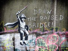 Banksy (Photo-man50) Tags: banksy graffiti urbex hull art kingstonuponhull bridge