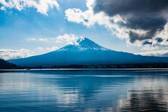 Mt. Fuji / Fujiyama / 富士山 (hiroshiken) Tags: 20171215 kawaguchiko 河口湖 mountain fuji fujiyama 音樂盒之森美術館 musicforestmuseum east