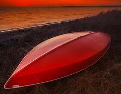 Boat (Dapixara) Tags: scenic light seascapes coastal sailboat boat sunrise beach twilight redboat hardingsbeach chatham sunset dapixara photography capecod massachusetts usa