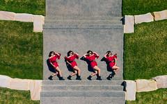 From above (Brett VonHoldt Photographer) Tags: colourful fletcher fun model modeldrone newcastle sharnabennett summer
