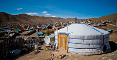 42059-012: Energy Conservation and Emissions Reduction from Poor Household in Mongolia (Asian Development Bank) Tags: mongolia mng ulaanbaatar 42059 42059012 ger yurt tent homes houses rural province nomadic housing clouds outdoor