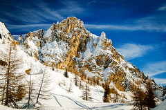 Aiguille Rousse (nic_r) Tags: aiguillerousse lesarcs peiseyvallandry mountain mountains alps aiguille rousse rocks snow landscape nature nikon d5100