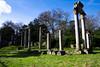 Virginia Water (TwoTripleFive) Tags: berkshire virginiawater virginiawaterlake grass sky tree ruins