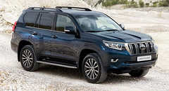 Facelifted 2018 Toyota Land Cruiser Yours From £32,795 In UK (Motor's Master) Tags: facelifted 2018 toyota land cruiser yours from £32 795 in uk