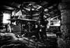 Titanesque! (vedebe) Tags: travail usine usinedésaffectée abandonné decay rue urbain urbex urban street city ville noiretblanc netb nb bw monochrome poseslongues longexposure