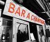 Champagne (Orzaez212) Tags: bar contraste color rojo letras letrero efecto filtro olympus champaña europeonflickr europa flickrtravelaward blancoynegro sign terraza parís eiffel