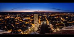 Firenze Night (Rodney Campbell) Tags: lights night cityscape sunset cityskyline hdr duomo