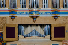 The small organ in the Church of St. Mary, Helsingborg (frankmh) Tags: musicalinstrument organ churchofstmary helsingborg skåne sweden indoor