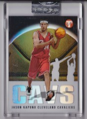 2003-04 Topps Pristine Refractors #191 Jason Kapono uncirculated RC #'d 0204:1999 1 (hoosierdealer) Tags: 200304 topps pristine basketball refractor serial numbered d uncirculated rookie rc ry