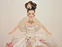 1996 Antique Rose Barbie (5) (Paul BarbieTemptation) Tags: 1996 antique rose barbie limited edition fao schwarz mackie fantasy