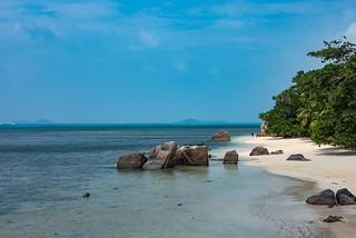 Peaceful Praslin Island Seychelles