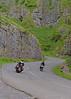 Passing Traffic.. (Harleynik Rides Again.) Tags: cheddar gorge bikes bikers road roadie s rocks nikondf harleynikridesagain