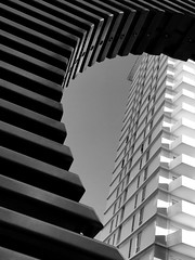 framed (eb78) Tags: iphone iphoneography ca california bw blackandwhite monochrome greyscale grayscale abstract sf sanfrancisco financialdistrict