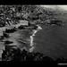 Photograph by Oskar Speck depicting a view of a coastal village