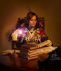 Fotocon 2017: Haylin Cosplay as Human Mage from Lineage 2, by SpirosK photography - spell casting (SpirosK photography) Tags: haylin haylincosplay cosplay costumeplay portrait fantasy spell spellcasting game videogame videogamecharacter lineage2 lineageii humanmage human mage spells strobist