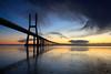 Tejo Dawn II (J C Mills Photography) Tags: portugal lisbon lissabon lisboa lisbonne tejo tagus dawn landscape bridge ponte vascodagama