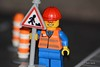 Roadworks (15/365) (Tas1927) Tags: 365the2018edition 3652018 day15365 15jan18 lego minifigure minifig