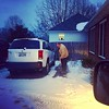Came home and this guy had salted and shoveled the steps and walkway for my parents. He is just #betterthanbest #lifewithlarsen (kldwelch) Tags: instagramcame home this guy had salted shoveled steps walkway for parents he is just betterthanbest lifewithlarsen january 15 2018 0853pm