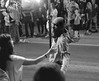 I've Seen the Light (BKHagar *Kim*) Tags: bkhagar mardigras neworleans parade people crowd flambeau flambeaux light fire torch march night street napoleon uptown bw blackandwhite