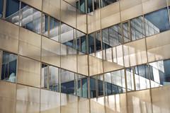 - Reflections - (Jacqueline ter Haar) Tags: reflections sunny corner office utrecht winter spiegeling lines diagonals explore spiegelung colors abstract angles reflecties lijnen