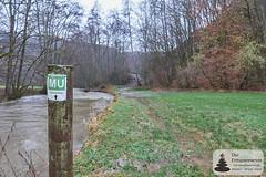 Mühlenweg an dem Üßbach