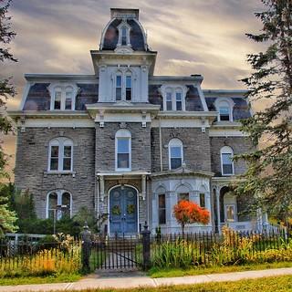 Plattsburgh New York -  W. W. Hartwell House & Dependencies - AKA - Regina Maria Retreat House  - Brinkerhoff Street