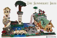 The Summerset Isles- Brickvention 2018 (Brickwielder) Tags: brickvention 2018 the summerset isles elder scrolls moc build fantasy tamriel elven elve skyrim