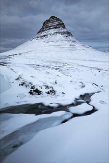 Kirkjufell Mountain, Snaefellsnes Peninsula, Western Iceland