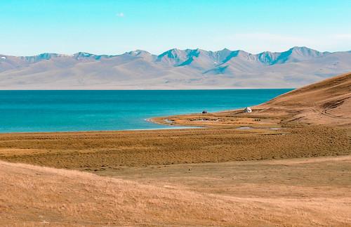 Vue sur le Lac Song Kul